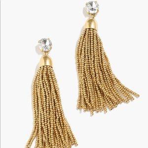 J.Crew tassel earrings